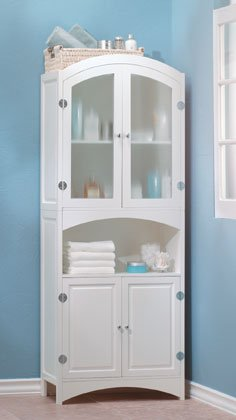 Classic Sophisticated Linen Cabinet