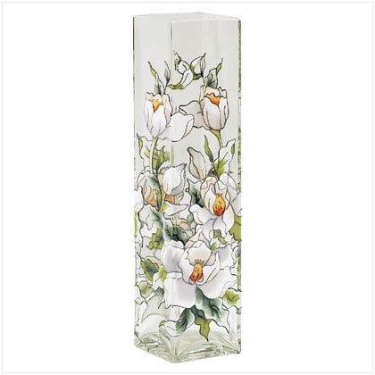 Magnolia Glass Vase