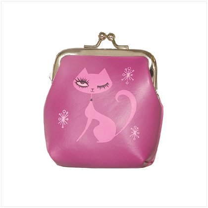 Kitty Kat Kool Coin Purse