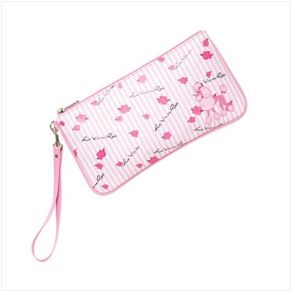 Poodle Clutch Bag