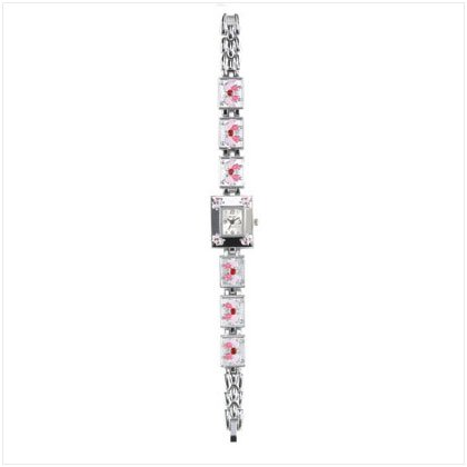Pink Butterfly Watch