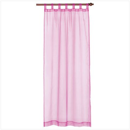 Organza Window Curtain