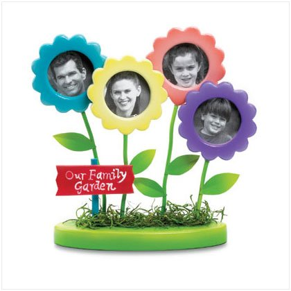 """Family Garden"" Photo Frames"