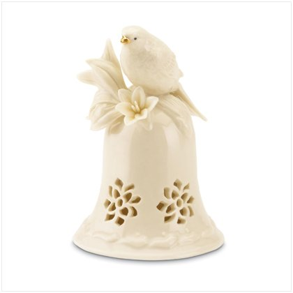 Porcelain Dove Bell