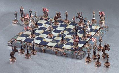 Civil War Chess Set