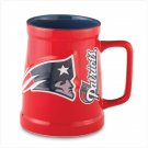 Sculpted Tankard- New England Patriots