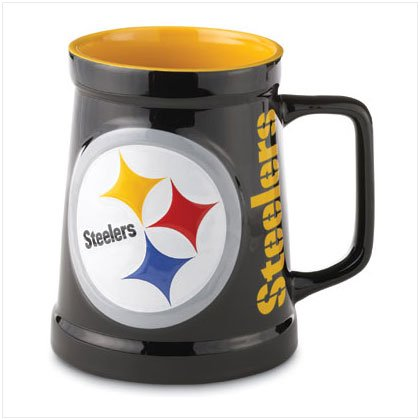 Sculpted Tankard- Pittsburgh Steelers