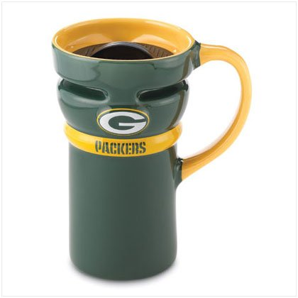 Ceramic Travel Mug- Green Bay Packers