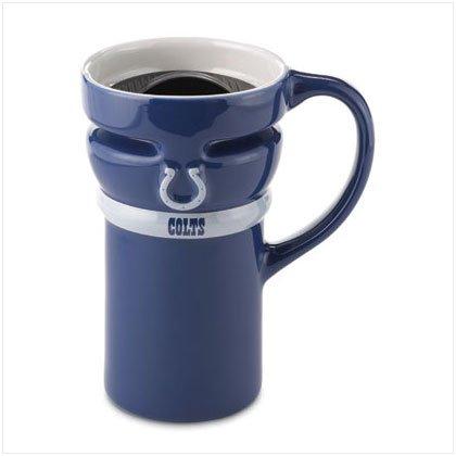Ceramic Travel Mug- Indianapolis Colts