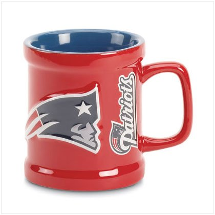 Sculpted Mug- New England Patriots