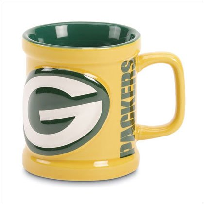 Sculpted Mug- Green Bay Packers