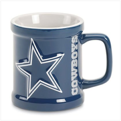 Sculpted Mug- Dallas Cowboys