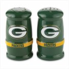 Sculpted Salt & Pepper Shakers- Green Bay Packers