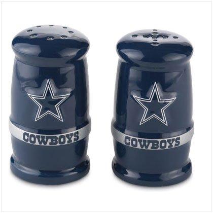 Sculpted Salt & Pepper Shakers- Dallas Cowboys
