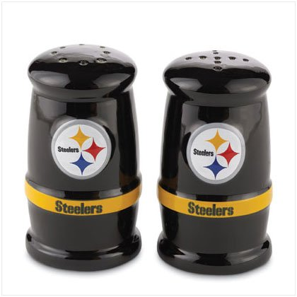 Sculpted Salt & Pepper Shakers- Pittsburgh Steelers