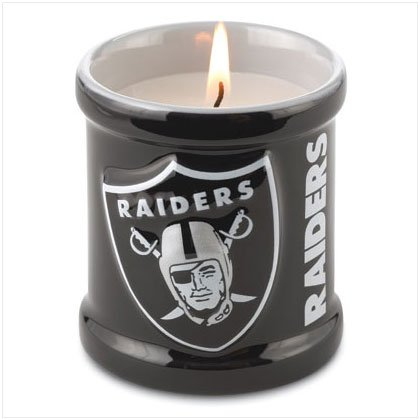Votive Candle - Oakland Raiders