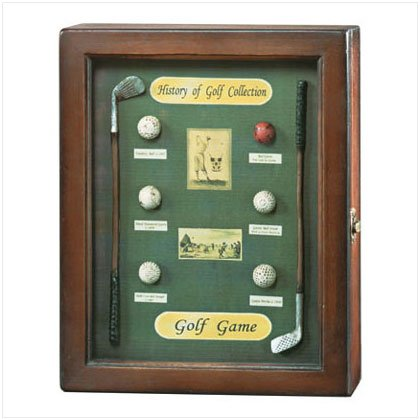"""History Of Golf"" Shadowbox"