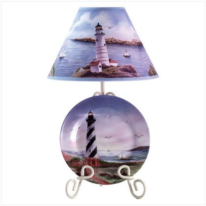 Cafe Hatteras Plate Lamp