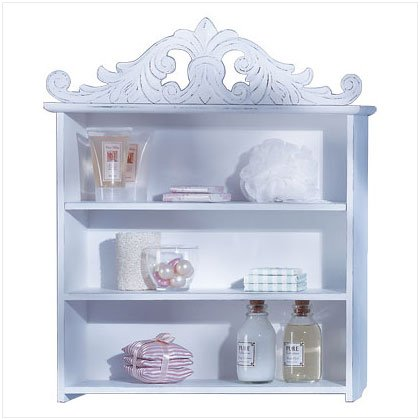Crowned Keepsake Shelf