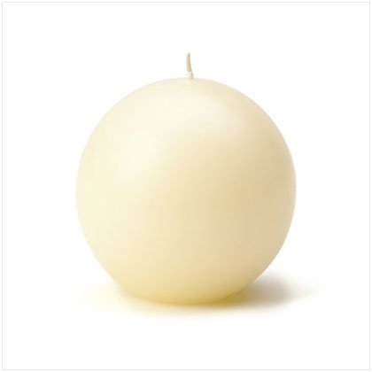 Unscented Candle Balls