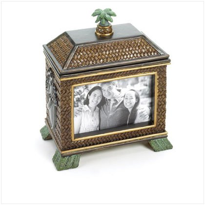 Island Hut Photo Frame Box
