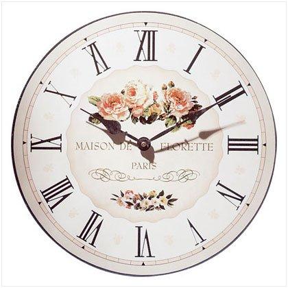 """""""Maison De Florette"""" Wall Clock"""