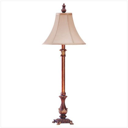 French Colonial Buffet Lamp