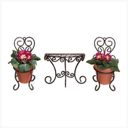 Cafe Style Wall Planter Set (3)