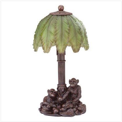 Monkey Palm Tree Lamp