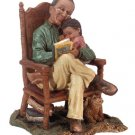 Grandfather & Child Figurine