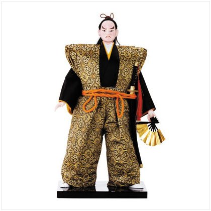 Japanese Samurai Warrior Doll