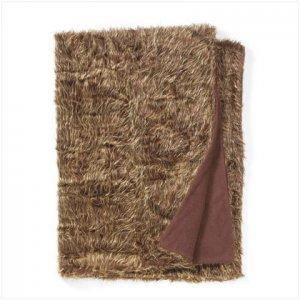 Full Sixe Faux Fur Blanket