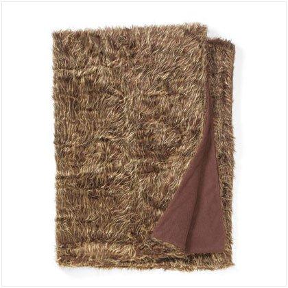 Twin Size Faux Fur Blanket