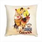 EXTRA SEC CURACAO ART PILLOW