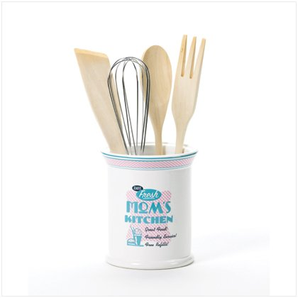 Mom's Kitchen Utensils & Holder