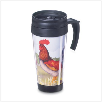 Country Rooster Commuter Mug