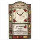 """Fruit Stand"" Clock"