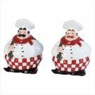 Chefs Salt & Pepper Shakers
