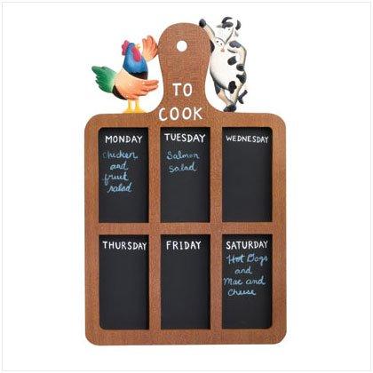 Cook's Blackboard