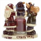 Christmas Friends Candleholder