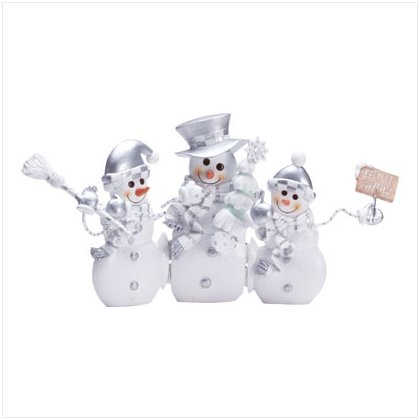 Hinged Snowman Screen