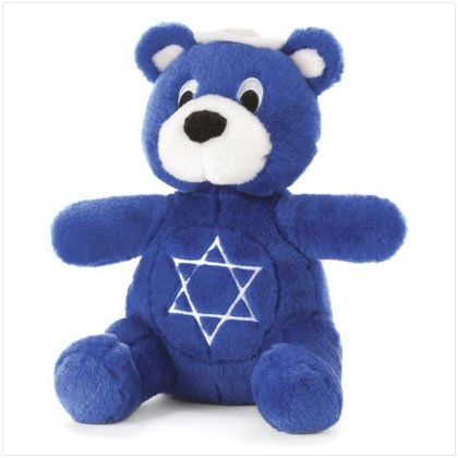 Plush Hanukkah Bear