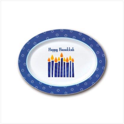 Hanukkah Oval Platter
