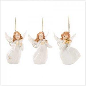 Angel Ornaments - Set of 3