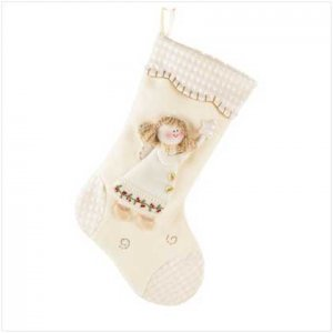 Angel Plush Stocking