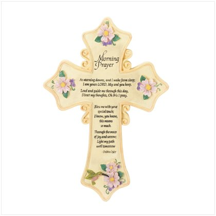 """Morning Prayer"" Cross"