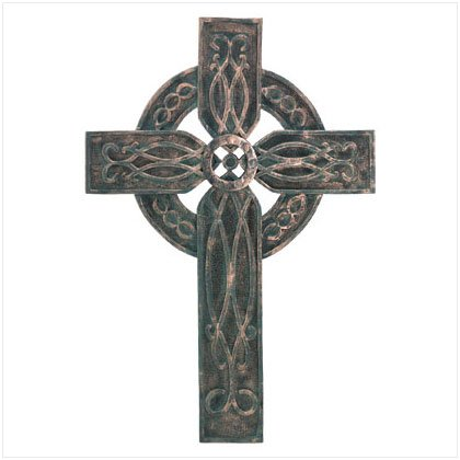 Antiqued Celtic Cross