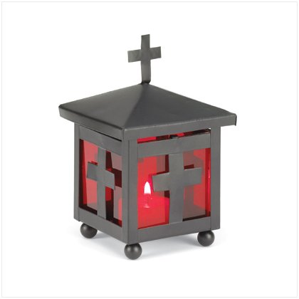 Cross Votive Holder