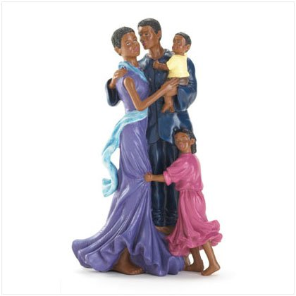 Loving Family of Four Figurine