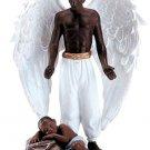 Angel With Sleeping Child